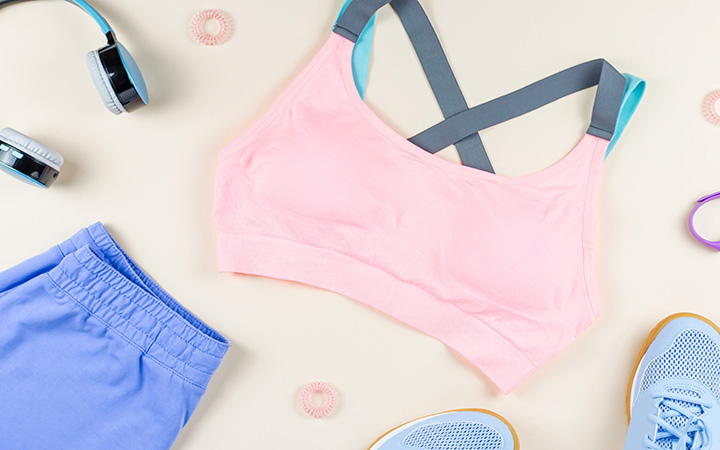 How To Fold Sports Bras: Quick Hacks